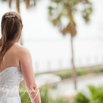 Anne's Bridal Portrait - Palmer House - Charleston, SC