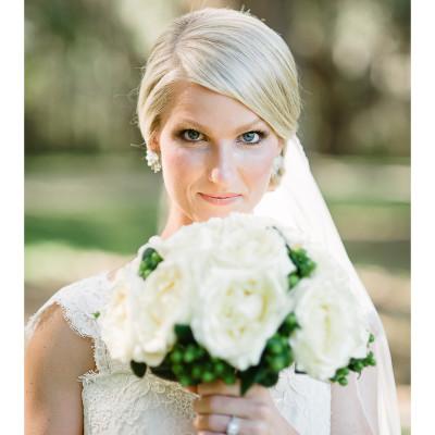 Erin's Bridal Portrait | Boone Hall Plantation | Charleston, SC