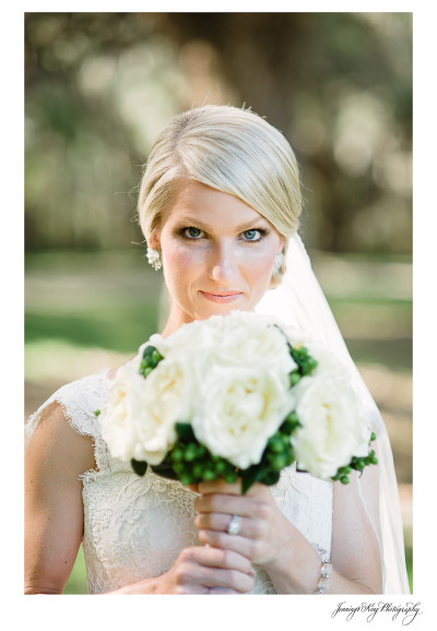 Erin's Bridal Portrait | Boone Hall Plantation | Charleston, SC