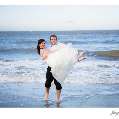 Virginia & Thomas | After Wedding Session | Folly Beach, SC
