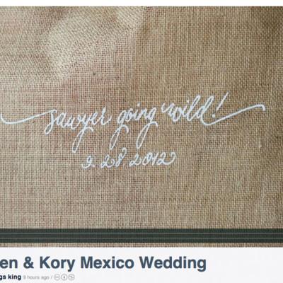 Lauren and Kory | Destination Wedding | Playa del Carmen, Mexico {The Royal Weddings}
