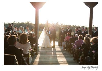 Mary Simms & Alex | Cotton Dock at Boone Hall Plantation Wedding