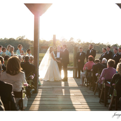 Mary Simms & Alex | Cotton Dock at Boone Hall Plantation Wedding