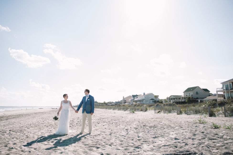 0001_Wendell and Volker Folly Beach Wedding {Jennings King Photography}