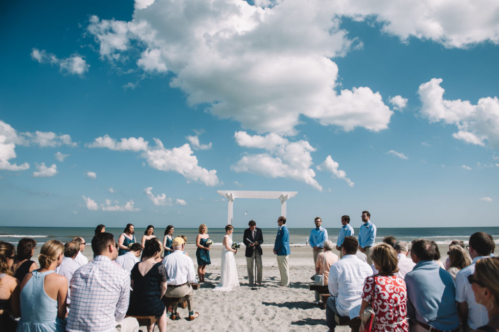 0036_Wendell and Volker Folly Beach Wedding {Jennings King Photography}