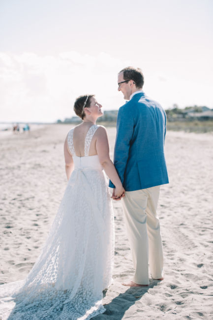 0045_Wendell and Volker Folly Beach Wedding {Jennings King Photography}