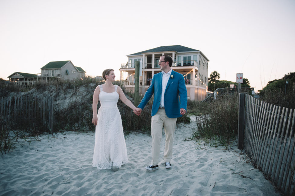 0062_Wendell and Volker Folly Beach Wedding {Jennings King Photography}