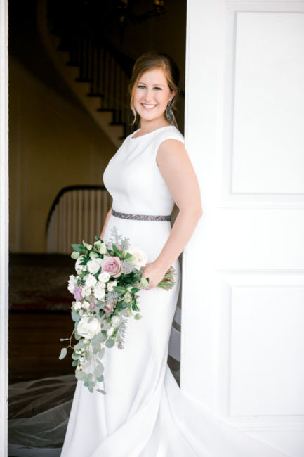 0116_Alex And Brad Lowndes Grove Wedding {Jennings King Photography}